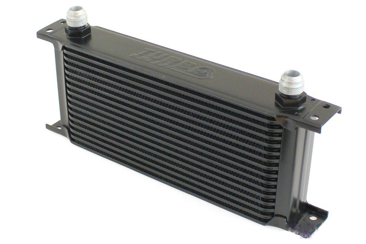 Chłodnica Oleju TurboWorks 16-rzędowa 260x125x50 AN10 Black - GRUBYGARAGE - Sklep Tuningowy
